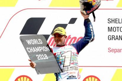 Jorge Martin beats Marco Bezzecchi to 2018 Moto3 championship