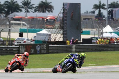 Sepang MotoGP: Marquez 'didn't have anything more' in Rossi fight