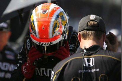 Hinchcliffe glad SPM didn't buy Indy 500 seat after failing to qualify