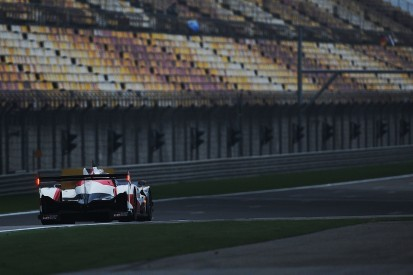 Extra practice for LMP1 cars at Shanghai World Endurance round