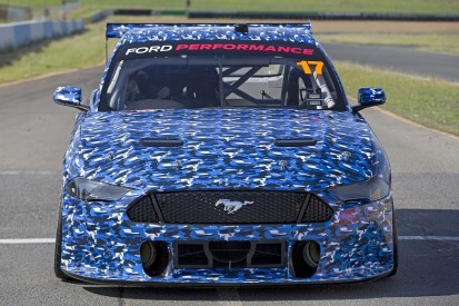 Ford's new Supercars Mustang for 2019 begins track testing