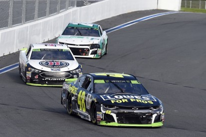 Jimmie Johnson's NASCAR struggle a 'reality check' for Kevin Harvick