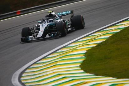 Brazilian Grand Prix practice: Valtteri Bottas leads Mercedes one-two