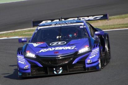 Jenson Button's Super GT team second, #8 ARTA Honda has Motegi pole