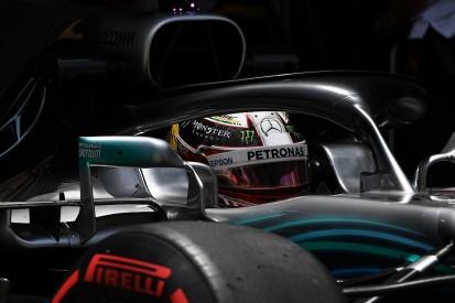 Lewis Hamilton against a Formula 1 calendar above 21 races