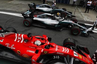 Mercedes: Ferrari favourite to win Brazilian GP after 'big gamble'