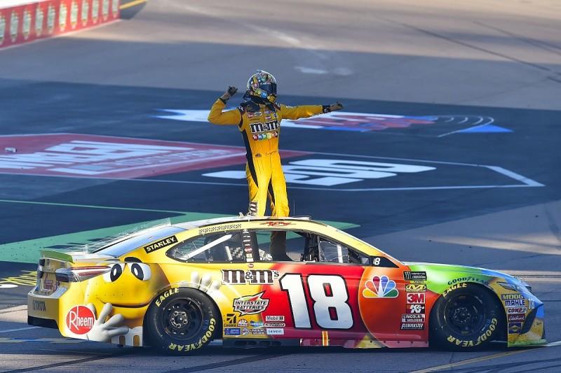 Phoenix NASCAR: Kyle Busch wins as 2018 Cup championship four set