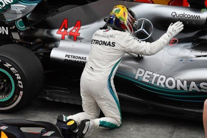 Lewis Hamilton's engine one lap away from failure in Brazilian GP