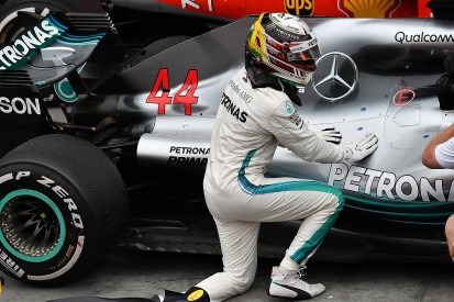 Lewis Hamilton's Mercedes F1 engine was damaged in Brazilian GP