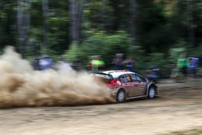 Rally Australia: Ostberg leads early stages, title rivals struggle