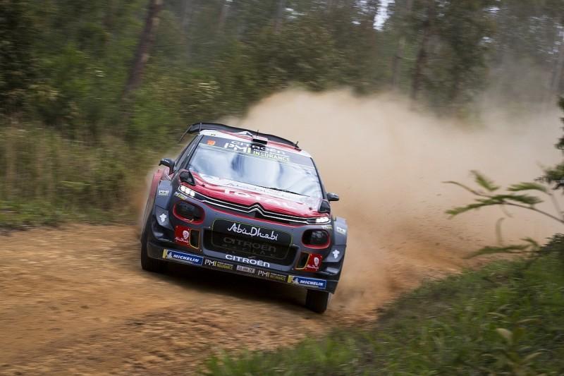 WRC Rally Australia: Ostberg leads, Neuville title bid hits trouble