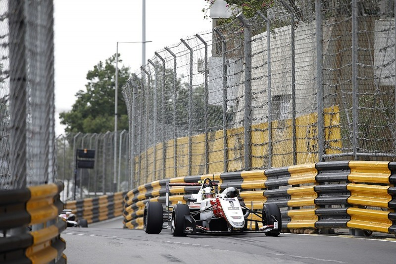 Macau Grand Prix: Mick Schumacher fastest in second practice