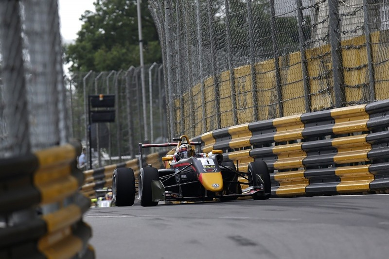 Red Bull F1 junior Dan Ticktum on Macau GP qualification race pole
