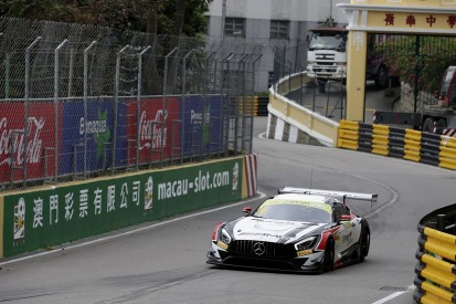 Macau FIA GT World Cup: Raffaele Marciello puts Mercedes on pole