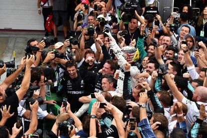 Lewis Hamilton: Mercedes' F1 titles will have huge 2019 'knock-on'