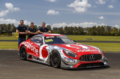 Triple Eight to Bathurst 12 Hour with Mercedes for Supercars trio