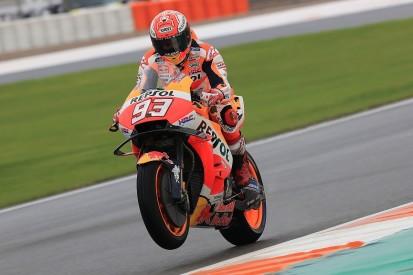 Valencia MotoGP: Marc Marquez happy to 'save' result after Q2 crash