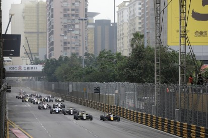 Macau Grand Prix halted after Florsch suffers huge airborne crash