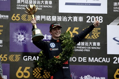 Macau GP: Ticktum scores second Macau victory in crash-marred race