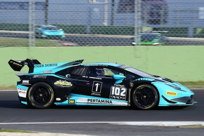 Hardwick earns Lamborghini AM class title, Ockey wins race