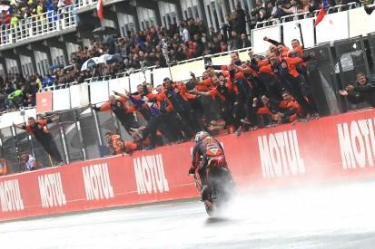 Pol Espargaro's maiden MotoGP podium at Valencia 'unreal'