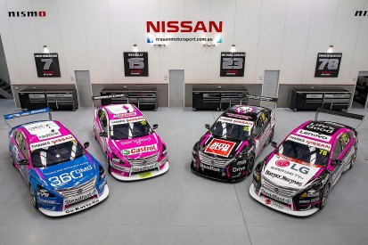 Newcastle 500: Nissan to run pink liveries for final Supercars race