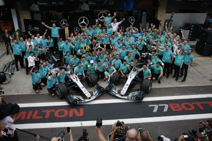Mercedes F1 team to 'go for broke' now 2018 titles are secured