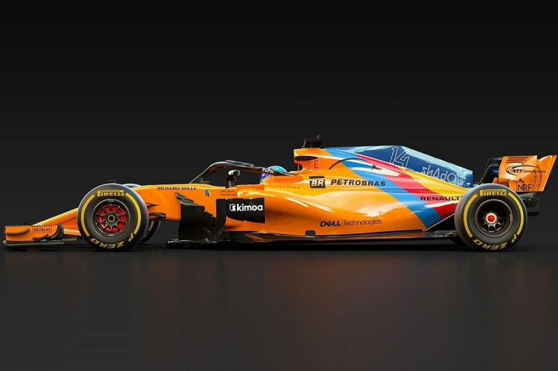 McLaren creates special livery for Fernando Alonso's F1 farewell