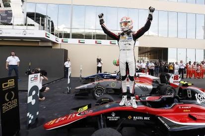 Anthoine Hubert claims last GP3 title, Leo Pulcini wins race one