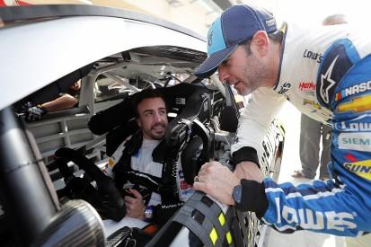 Jimmie Johnson and Fernando Alonso begin F1/NASCAR car swap