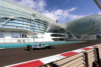 Abu Dhabi F1 test: Bottas fastest as drivers run with 2019 teams