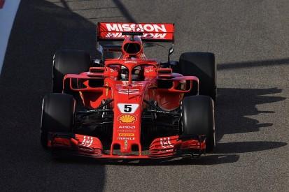 Abu Dhabi F1 test: Sebastian Vettel fastest for Ferrari