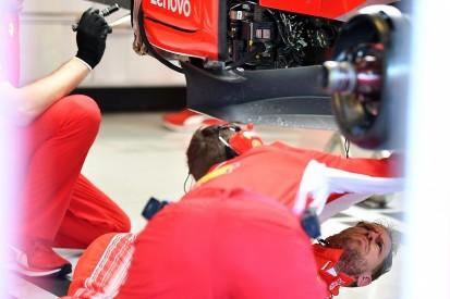 Damaged parts set back Vettel's running in Abu Dhabi F1 tyre test