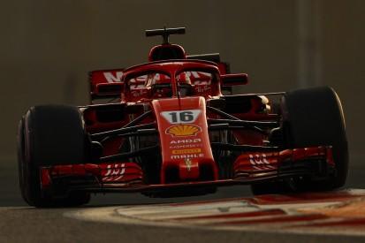 Abu Dhabi F1 test: Charles Leclerc fastest for Ferrari on day two