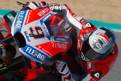 Jerez MotoGP testing: Petrucci leads Ducati 1-2 on first day