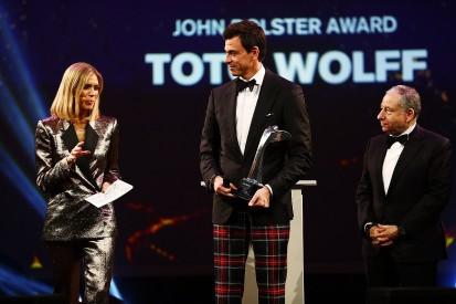 Mercedes F1 boss Toto Wolff receives John Bolster Award