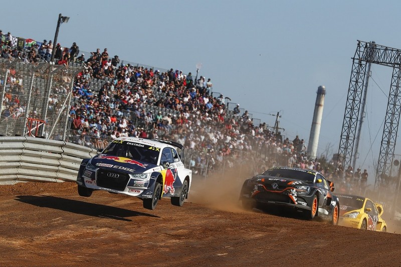 Ekstrom's EKS team pulls out of World Rallycross Championship