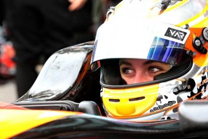 Van Amersfoort recovering stolen parts from Florsch Macau GP crash