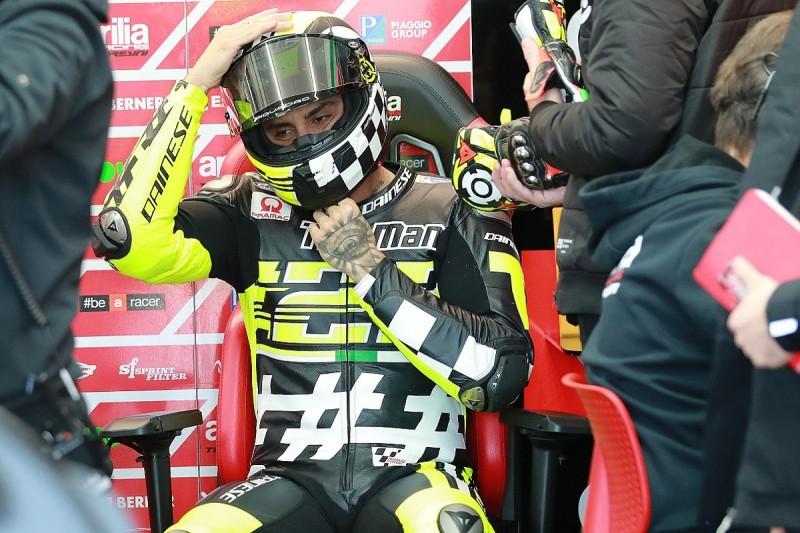 New Aprilia rider Andrea Iannone 'surprises' team in his feedback