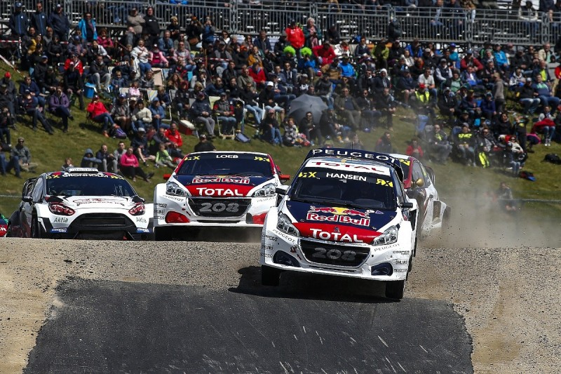 Hansen trying to revive team after Peugeot World Rallycross exit