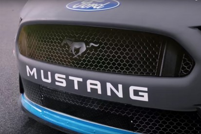 NASCAR Cup champion Logano gives new 2019 Ford Mustang first outing