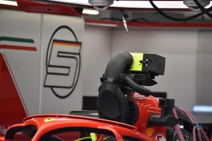 New Ferrari F1 airbox device prompts fresh camera intrigue