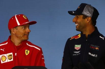 Daniel Ricciardo surprised by Kimi Raikkonen's Sauber deal