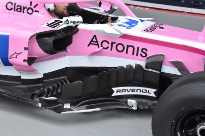 Force India reveals major F1 car update for Singapore Grand Prix