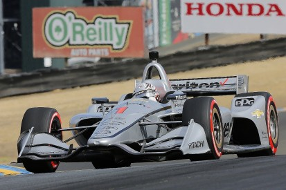Josef Newgarden tops Sonoma practice ahead of IndyCar title decider