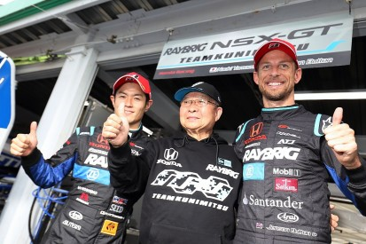 Ex-Formula 1 driver Jenson Button gets first Super GT pole at Sugo