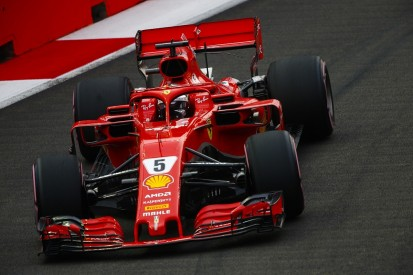Singapore Grand Prix: Vettel leads Ferrari one-two in practice