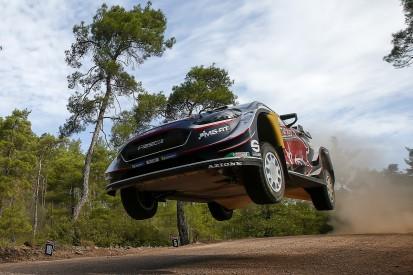 WRC Rally Turkey: More drama as Sebastien Ogier goes off