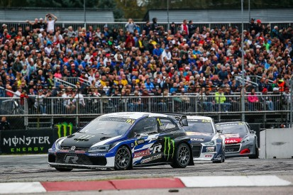 World RX Latvia: Volkswagen ace Kristoffersson leads overnight