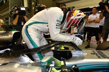 Mercedes driver Hamilton calls Singapore F1 qualifying lap 'magic'